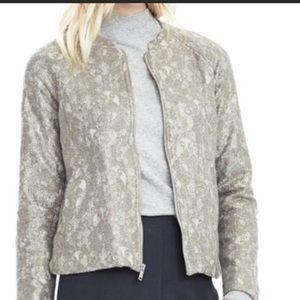 Banana Republic lace gold and gray jacket